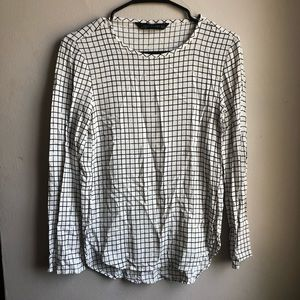 Checkered Zara Long Sleeve